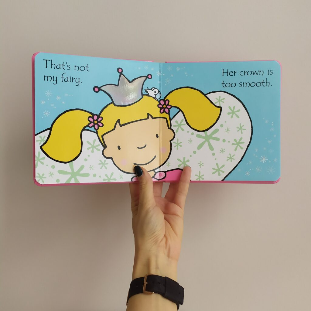 That's not my fairy Usborne - otwarta książka